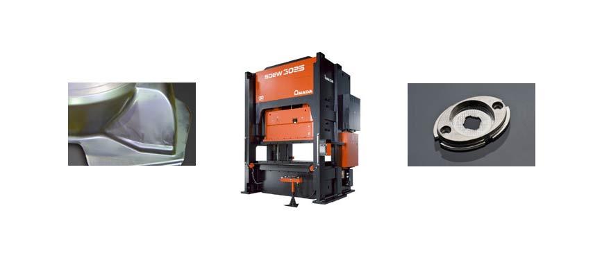 Digital AC 2-point Servo Press SDEW Series